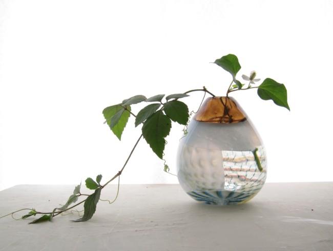 ガラス花器